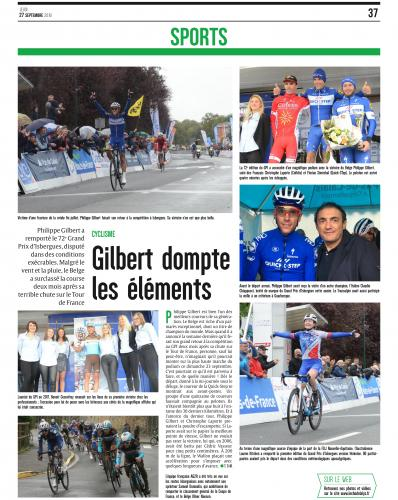 Article de l'Echo de la Lys GPI 2018